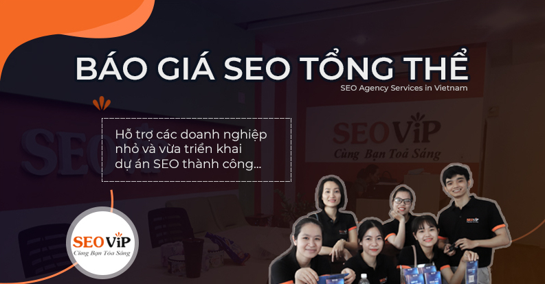 SEOViP Báo giá dịch vụ seo tổng thể