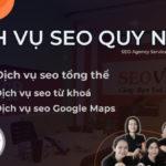 Dịch vụ SEO tại Quy Nhơn Bình Định uy tín, chuyên nghiệp, hiệu quả