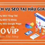 Dịch vụ SEO tại Hậu Giang – Seo website lên top hàng nghìn từ khóa