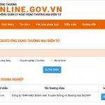 Hướng dẫn đăng ký Website với Bộ Công Thương đơn giản từ A – Z