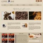 Thiết kế website cho Quán cafe, trà sữa độc đáo, chuyên nghiệp