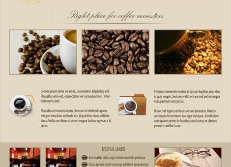 Thiết kế website quán cafe, trà sữa độc đáo, đẹp mắt