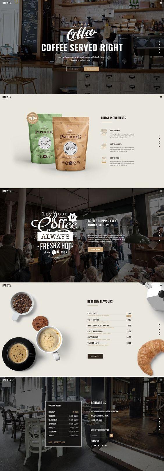 Thiết kế website quán cafe trà sữa đảm bảo chuẩn SEO, đẹp mắt