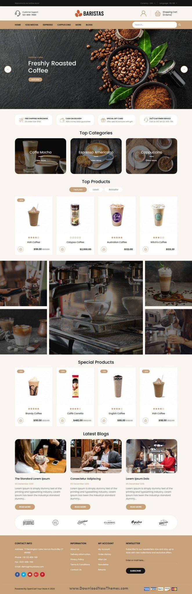 Thiết kế website quán cafe, trà sữa chuẩn SEO, có cơ hội cạnh tranh với đối thủ