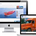 Thiết kế website Logistics, xuất khẩu, vận chuyển